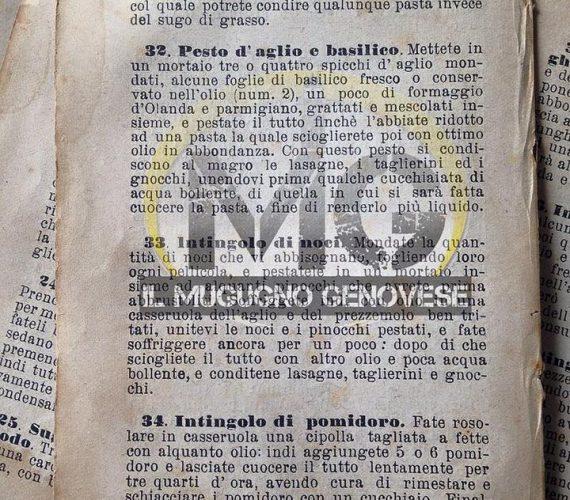 Dal diario di Bianca … uno Squisito Pesto !