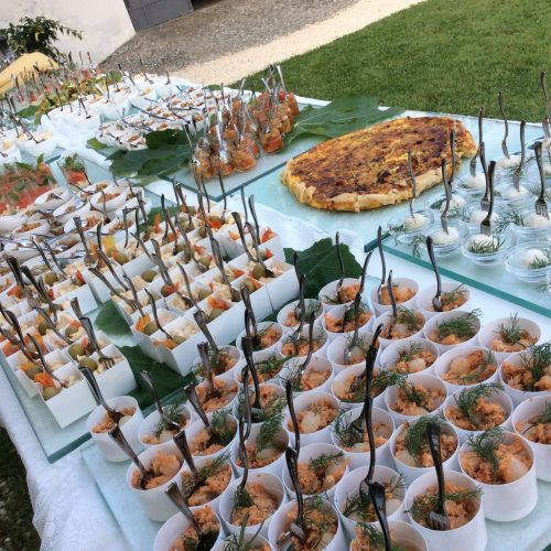 eroma wedding buffet esterno davanti